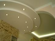 Отделка потолка гипсокартоном в Сочи