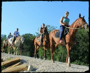 Конные прогулки в Сочи - конюшня Казачий Брод